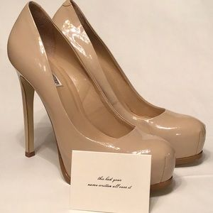 "Kelsi Dagger 5"" Patent Platform Heel"